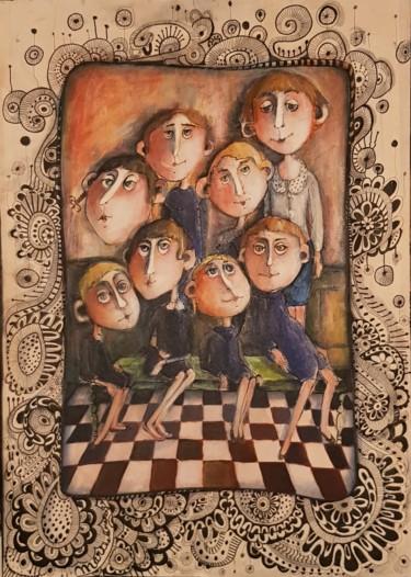 Les petits de Melle Martichou institutrice laïque