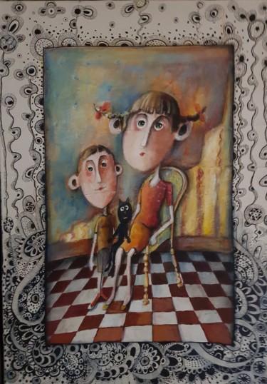 Edward et sa deuxième épouse salon hôtel Maurice